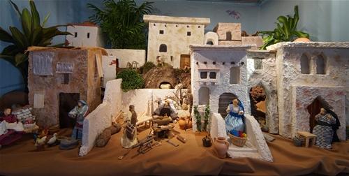Die Heilige Familie in Nazareth