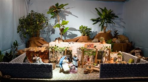 Jesus bei Maria und Marta